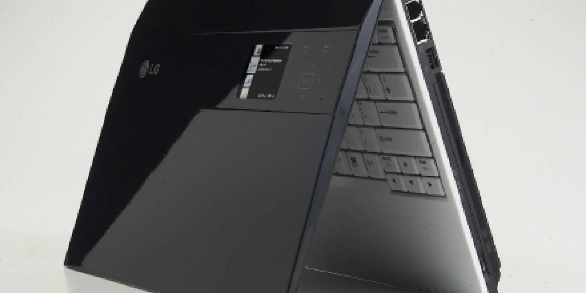 CES: Laptop LGE-Z1 de LG con SideShow