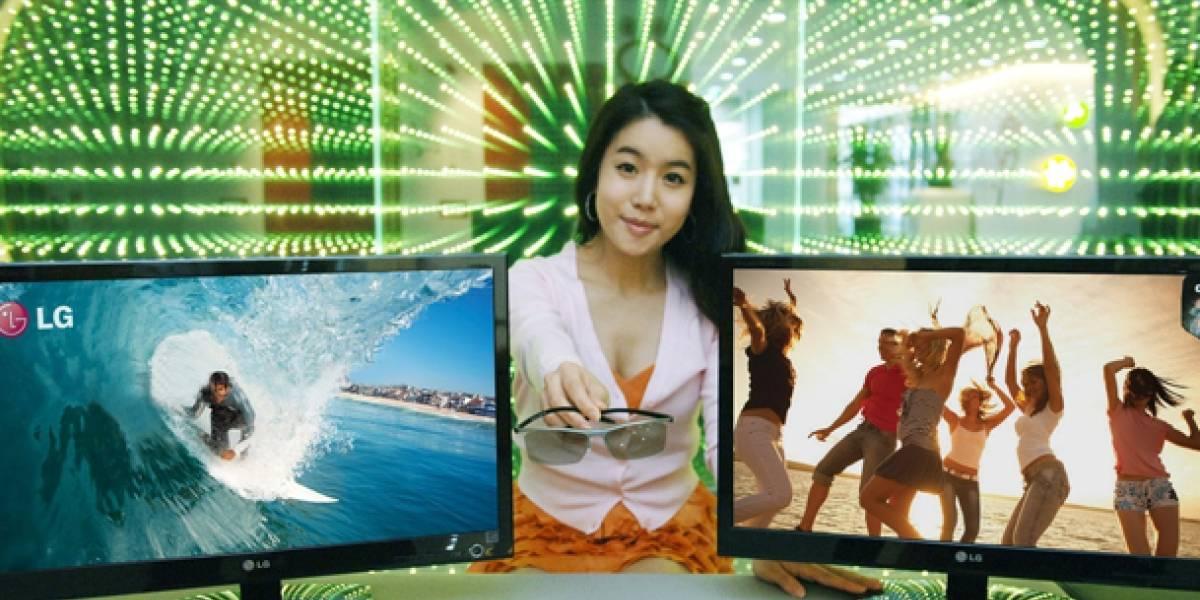 Los monitores Cinema 3D de LG llegarán a España en junio