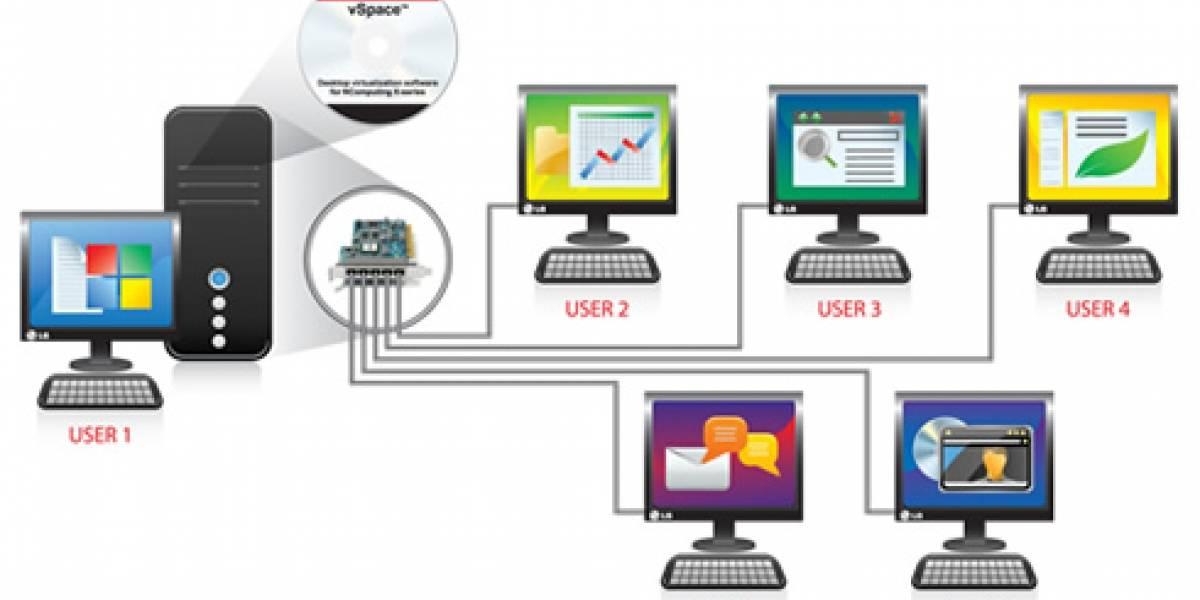 Nuevos monitores LG con virtualización