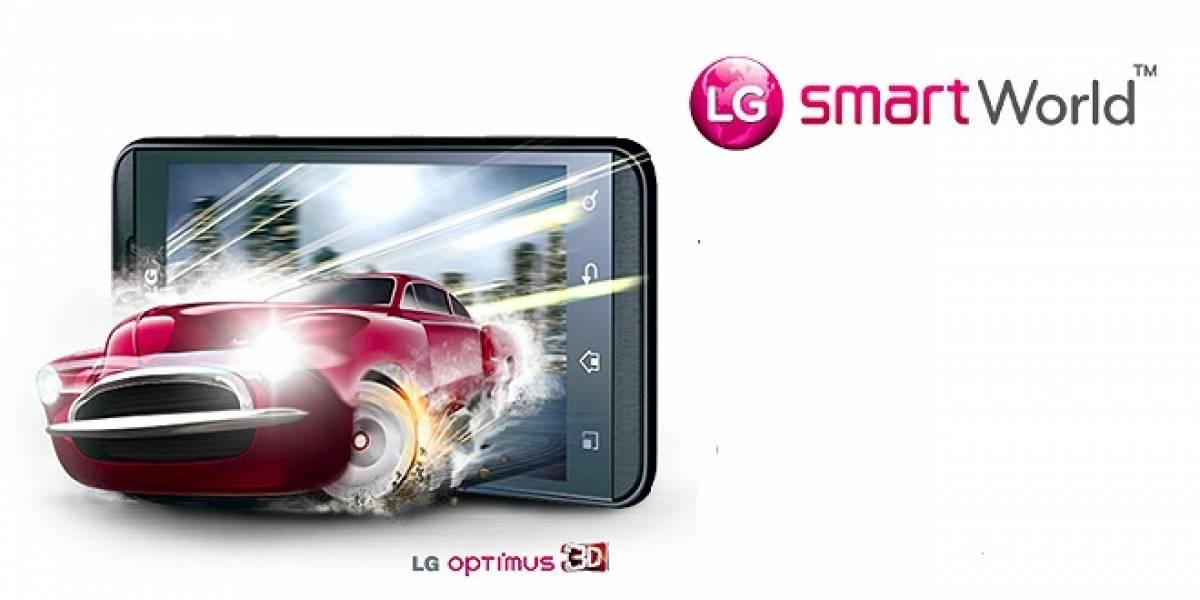 LG SmartWorld abrirá un servicio premium de aplicaciones incluyendo contenido 3D