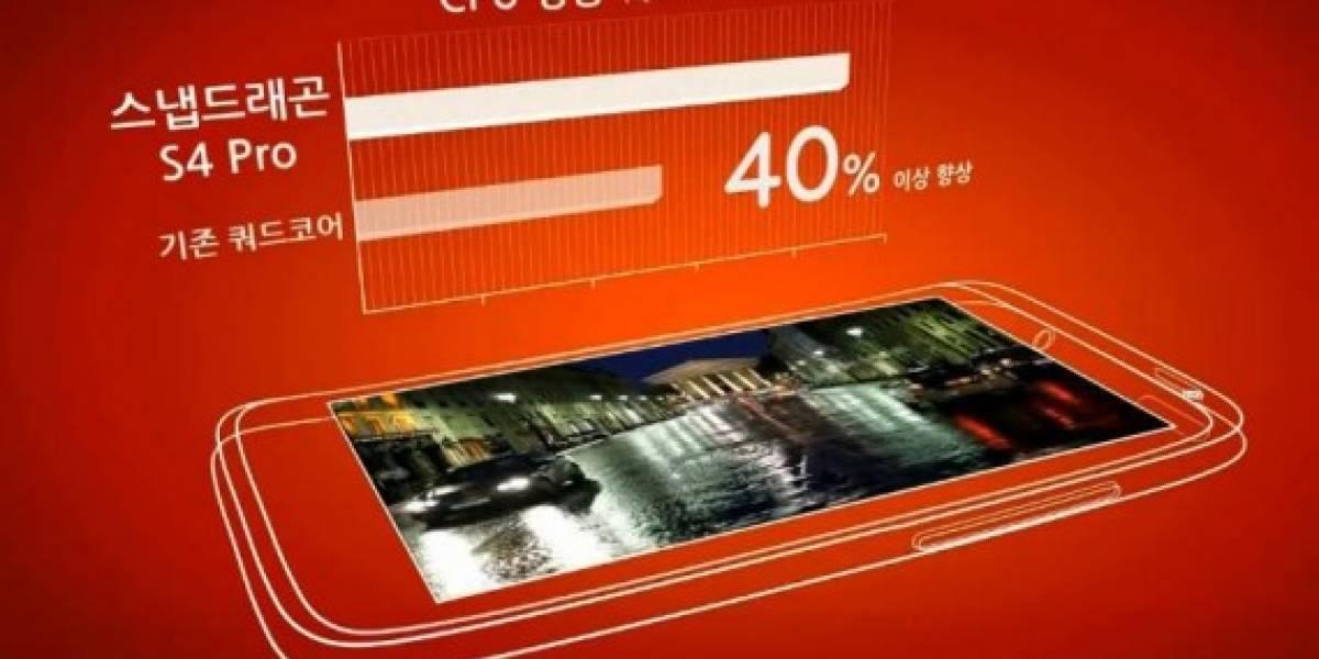 LG publica video sobre su próximo teléfono con Snapdragon S4 Pro