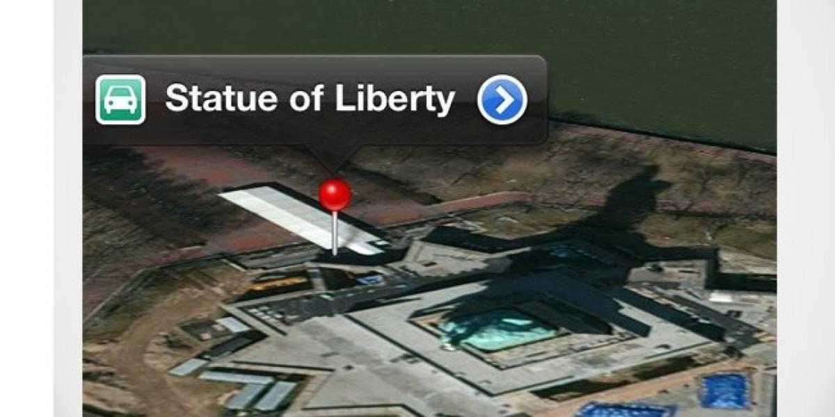 Llueven las críticas a los mapas de iOS 6