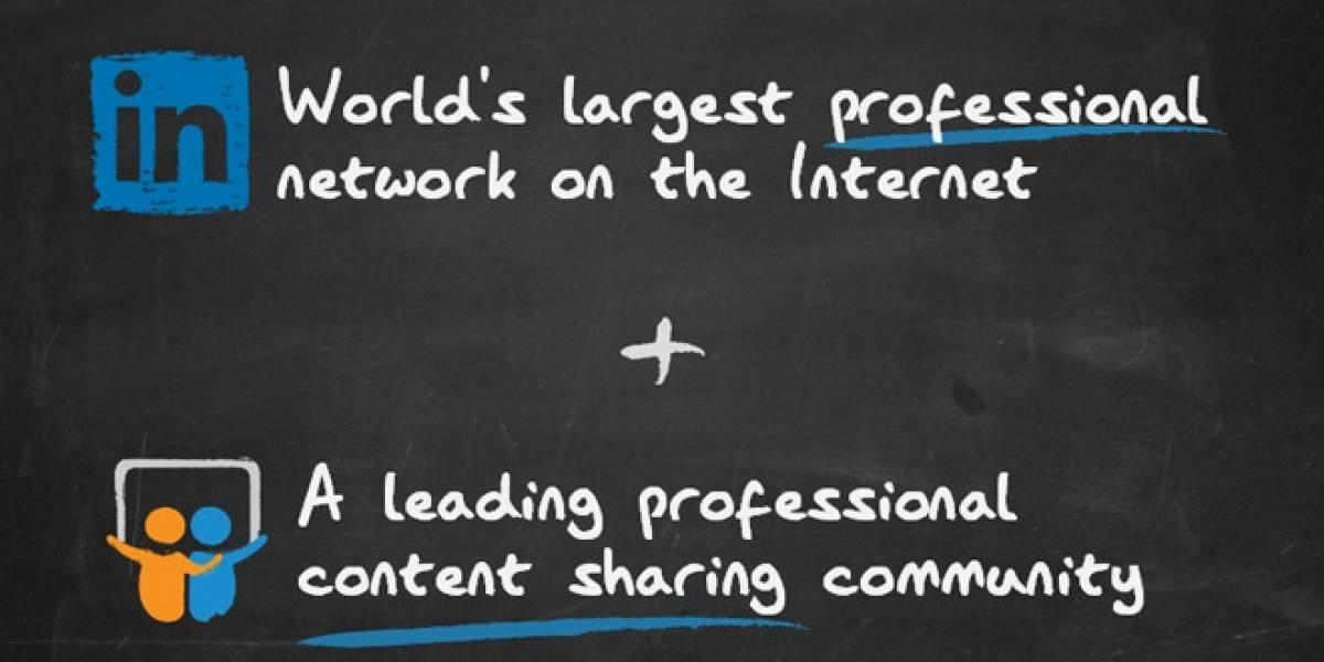 LinkedIn se compra Slideshare por USD$119 millones