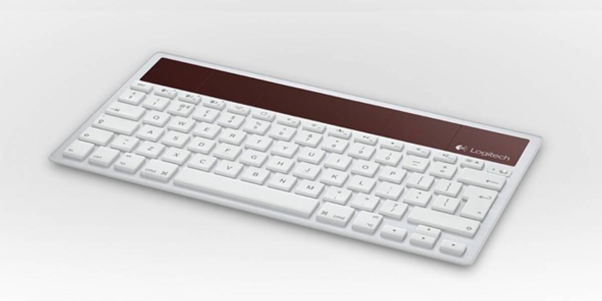 Teclado solar inalámbrico de Logitech funciona para iPhone, iPad y Mac