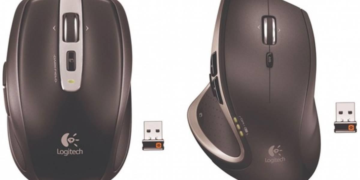 Logitech presenta nuevos mouses para su Receptor Unificado USB