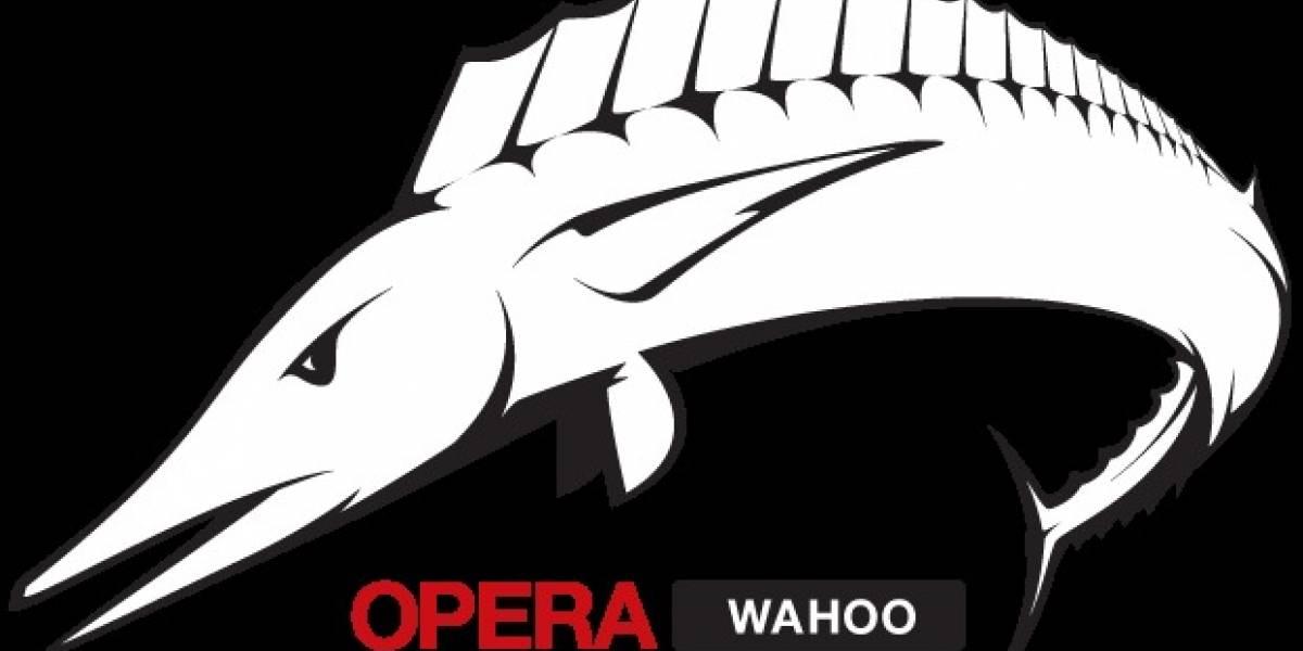 """Opera Software nos adelanta una vista previa de """"Wahoo"""""""