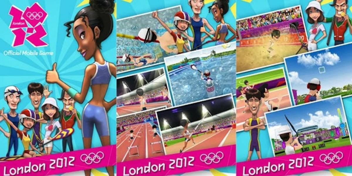 Ya disponible London 2012 para iOS y Android