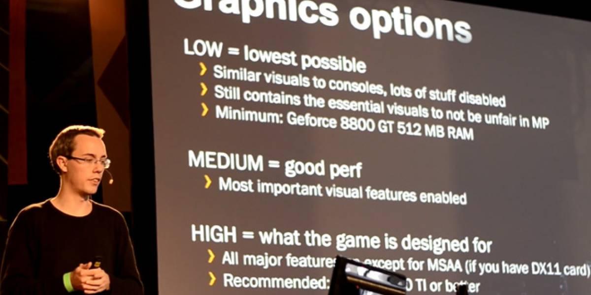 Battlefield 3 en consolas equivale a la versión de PC con las gráficas más bajas