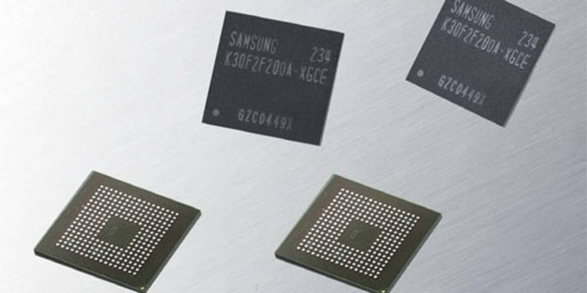 Samsung comienza a producir memorias LPDDR3 de 2GB