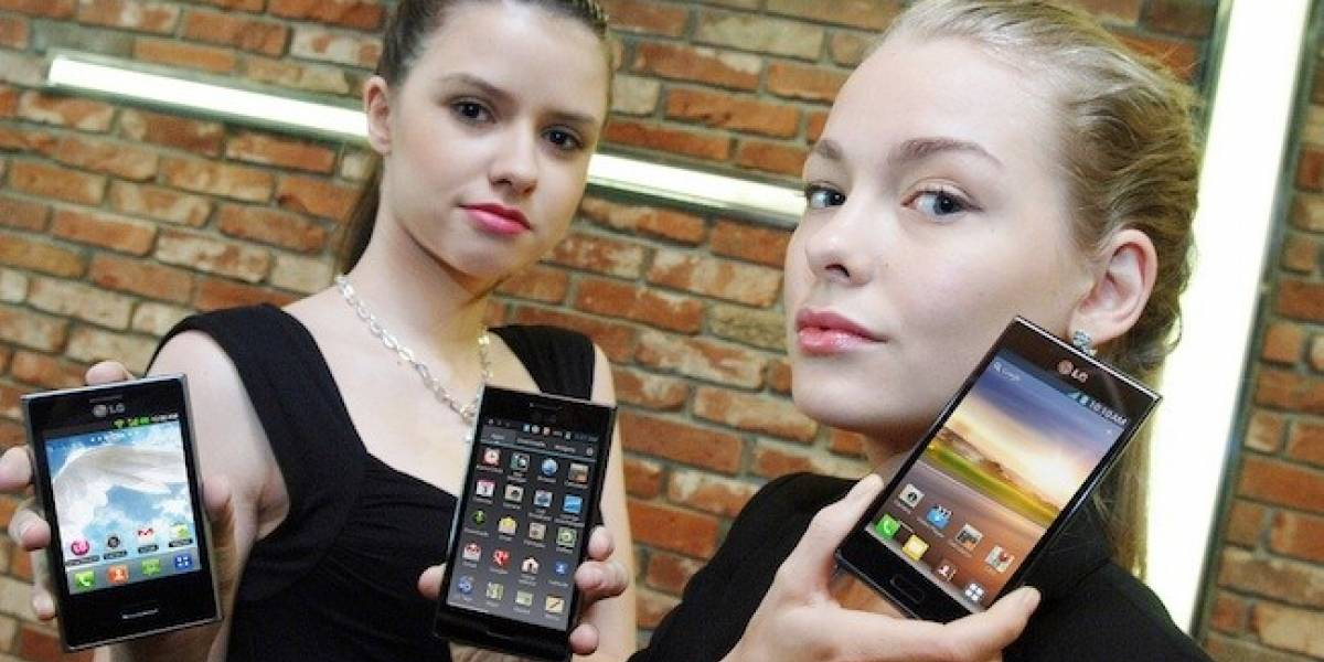 LG anuncia tres nuevos smartphones con Android: El L3, el L5 y el L7