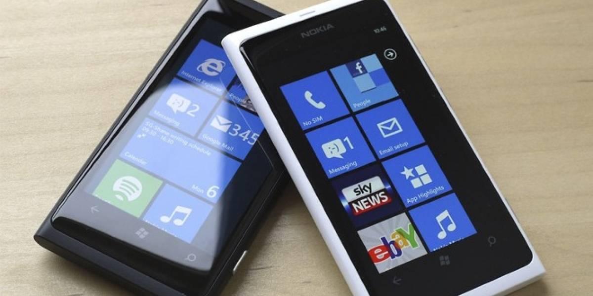 Los Nokia Lumia 800 y 900 se están agotando
