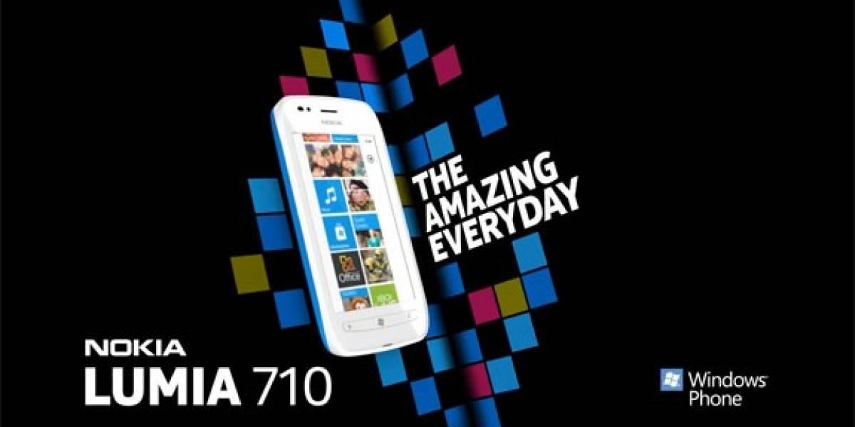 Nokia ya promociona al Lumia 710