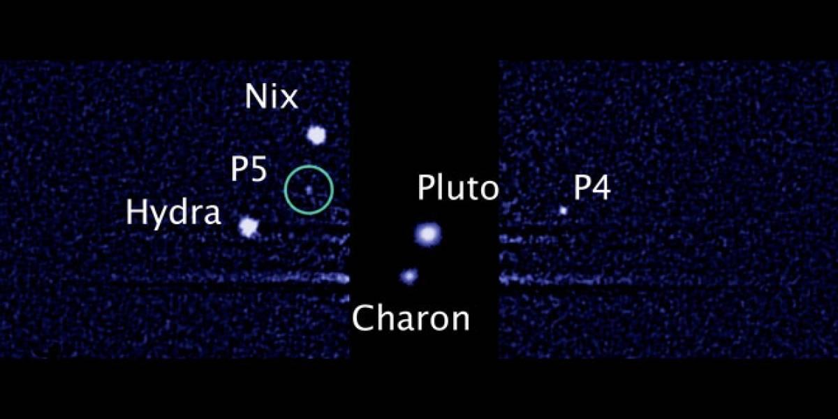 El Hubble descubre la quinta luna de Plutón