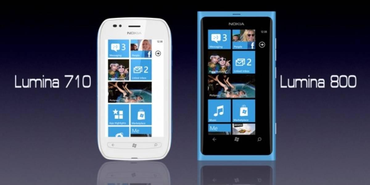 Actualización para Nokia Lumia 710 y 800c ahora activa tethering