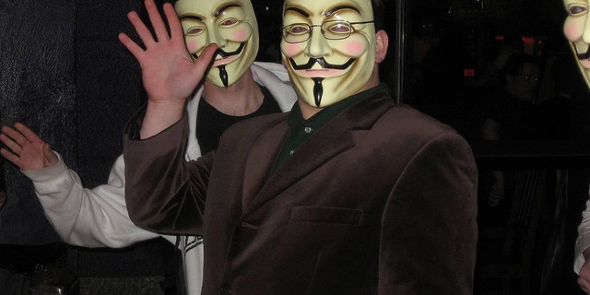 España: Anonymous cumplió su amenaza a Telefónica