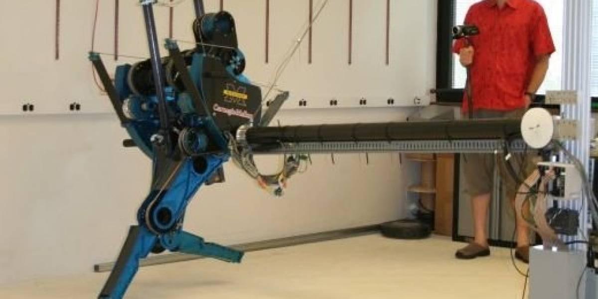 Mabel, un robot de dos piernas que corre como humano