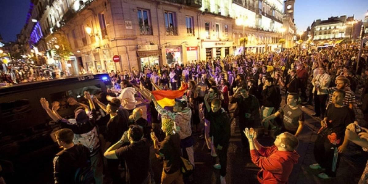 España: La movilización del 15M copa Internet