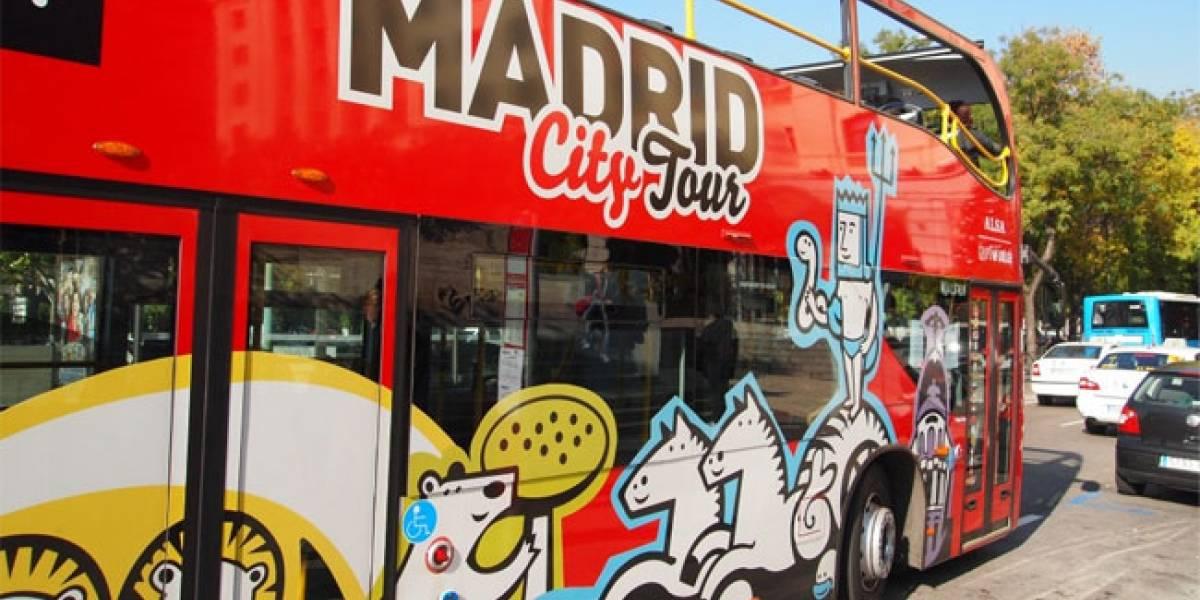 Los autobuses turísticos de Madrid tendrán WiFi gratis