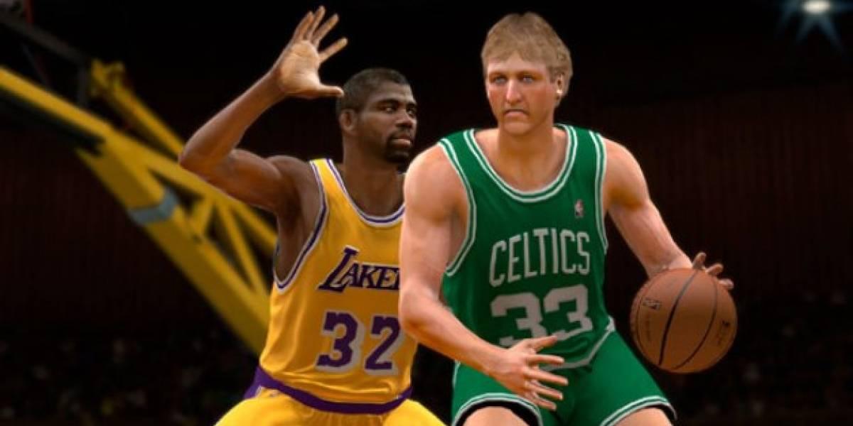 Michael Jordan está de vuelta en NBA 2K12... y no viene solo