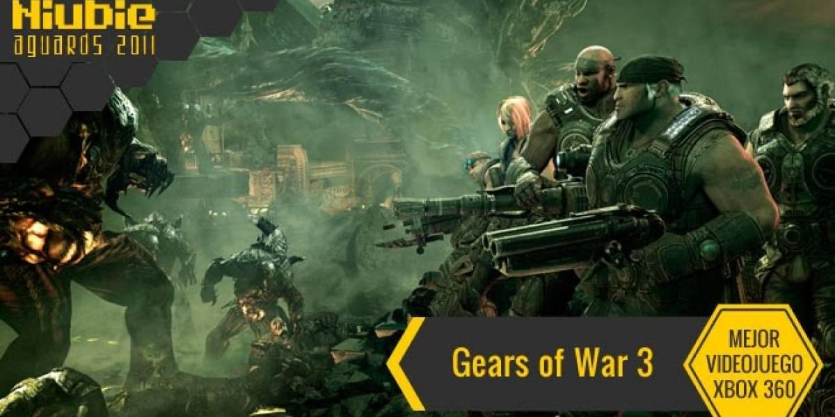 Mejor Videojuego de Xbox 360 [NB Aguards 11]: Gears of War 3