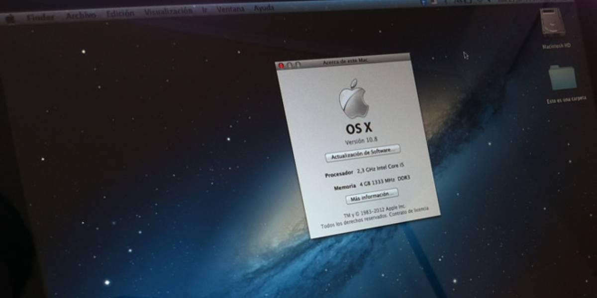 OS X Mountain Lion A Primera Vista