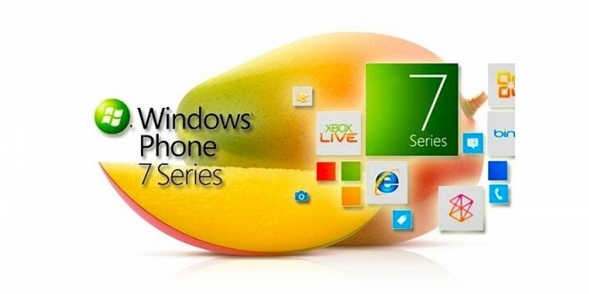 Windows Phone 7.5 Mango ya se encontraría disponible para todos los equipos compatibles