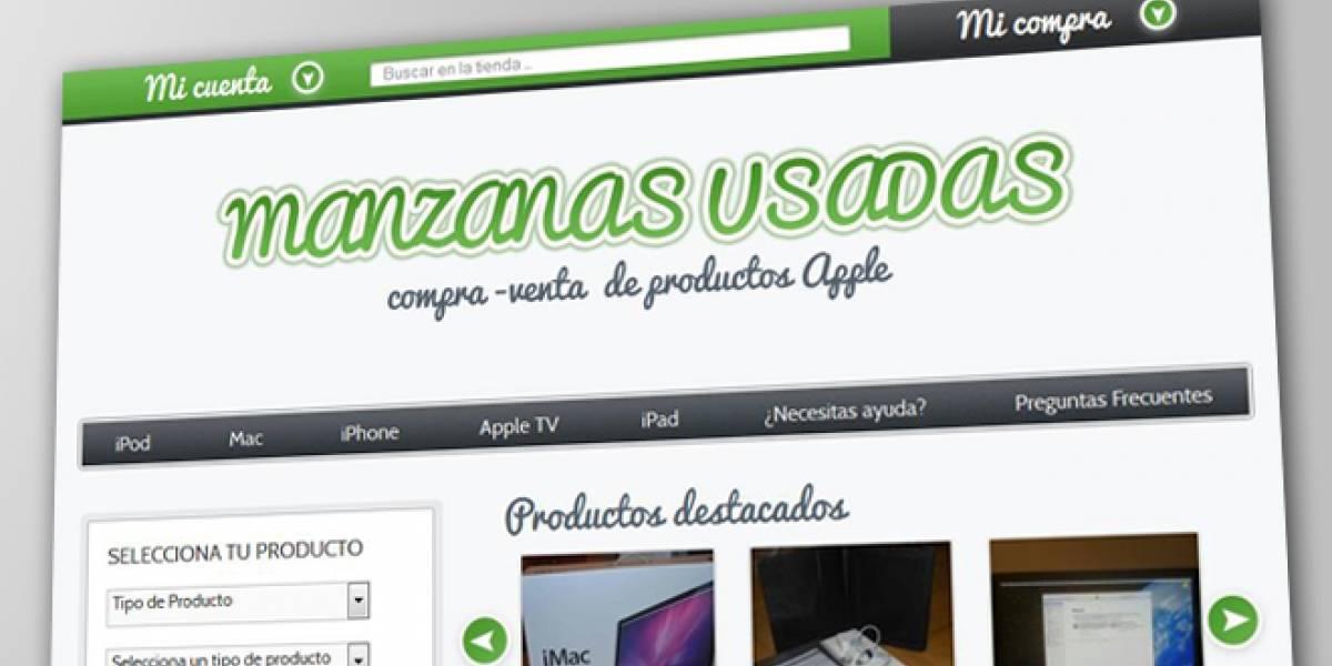 Manzanas usadas, una web de productos Apple de segunda mano en España