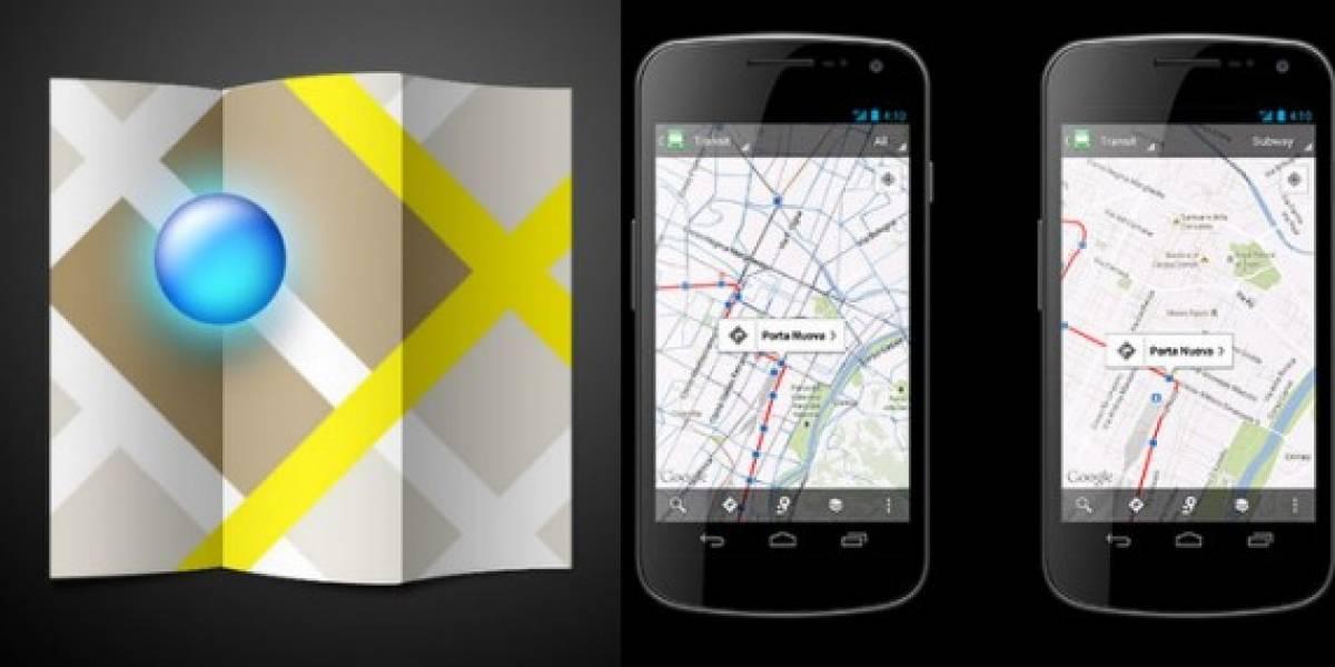 Google Maps ya muestra horarios del transporte público de más de 500 ciudades