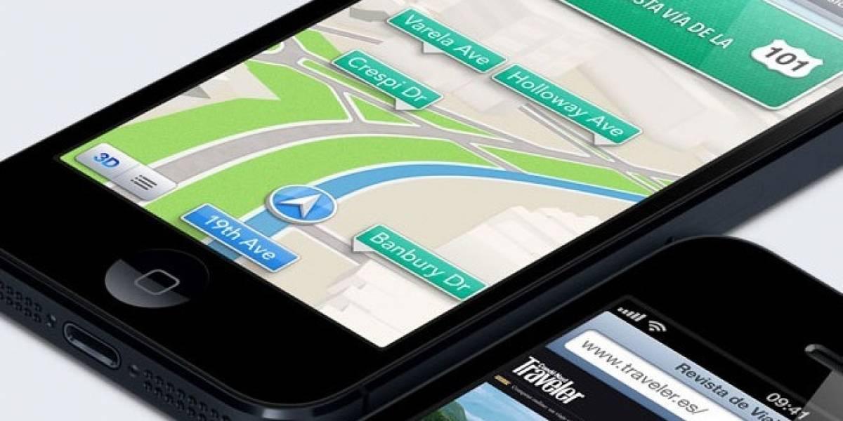 Cae dramáticamente el uso de los mapas de Apple