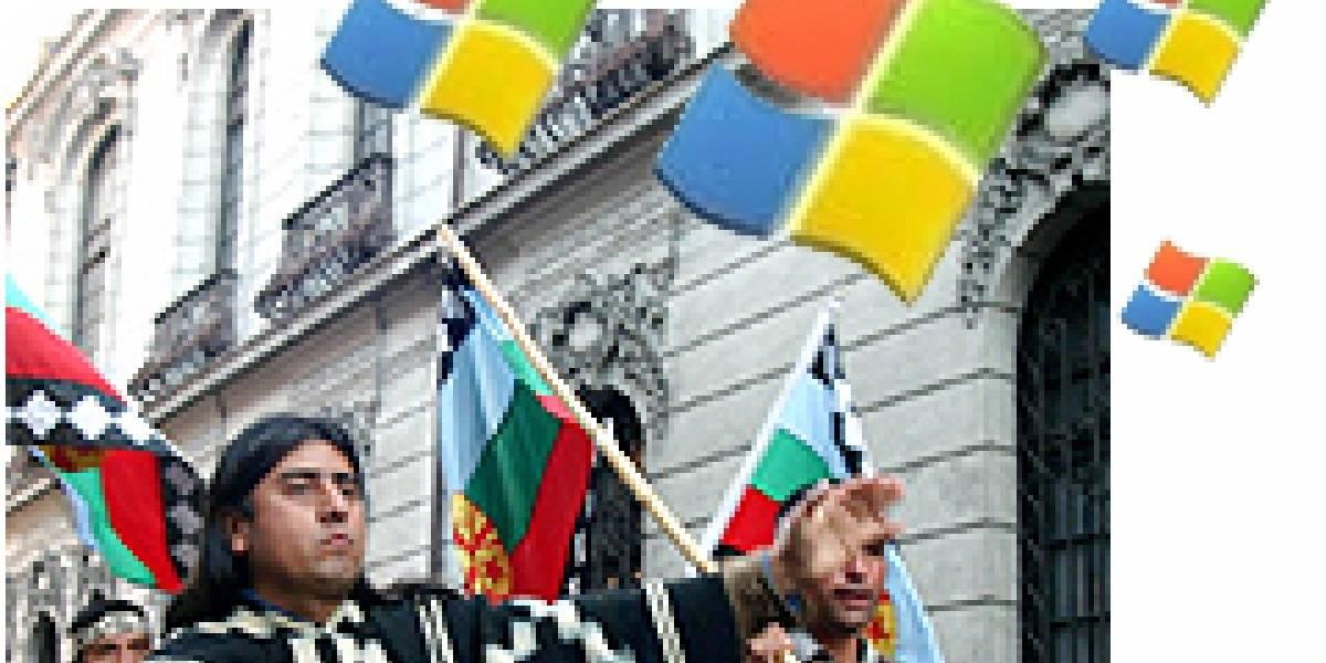 Pueblo Mapuche demanda a Microsoft