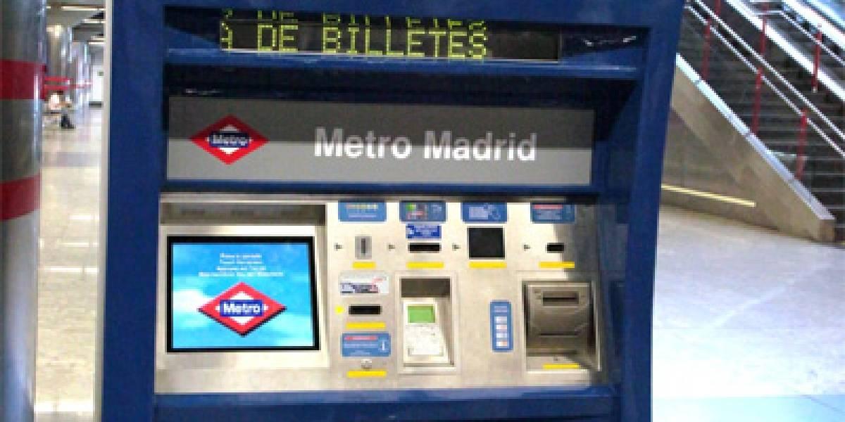 Metro de Madrid renueva sus máquinas billeteras y las hace más accesibles
