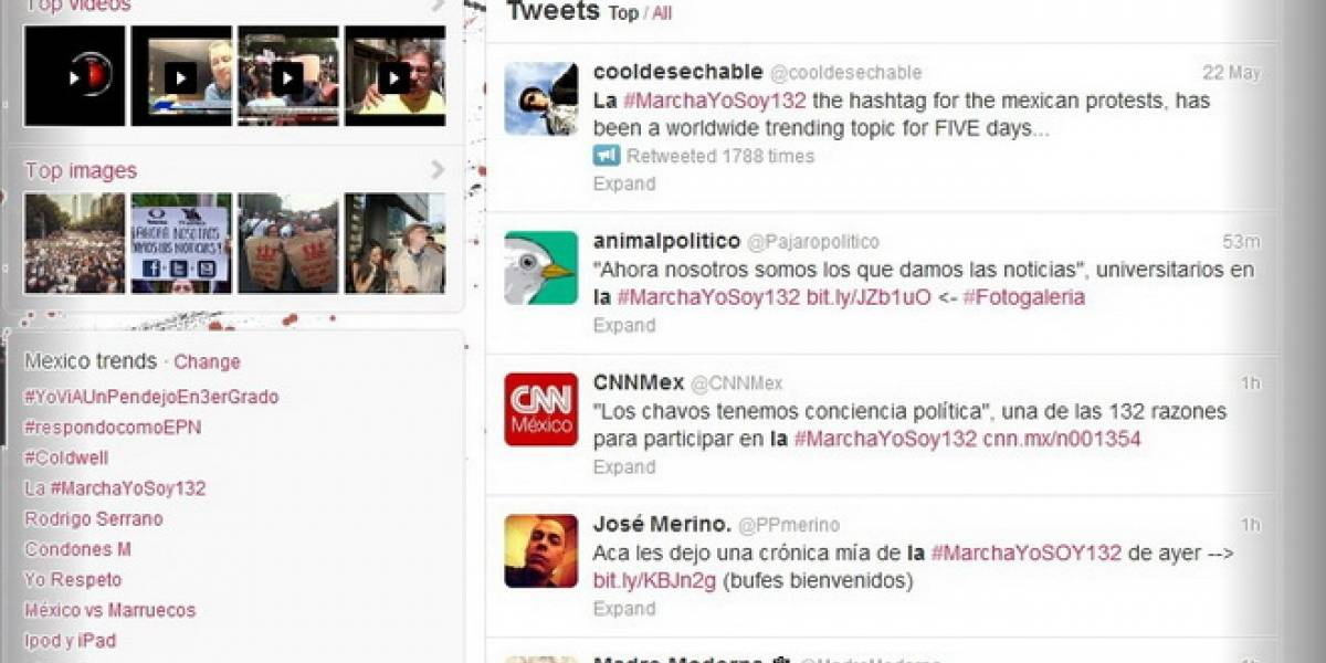 México: #MarchaYoSoy132 es tema tendencia cinco días consecutivos