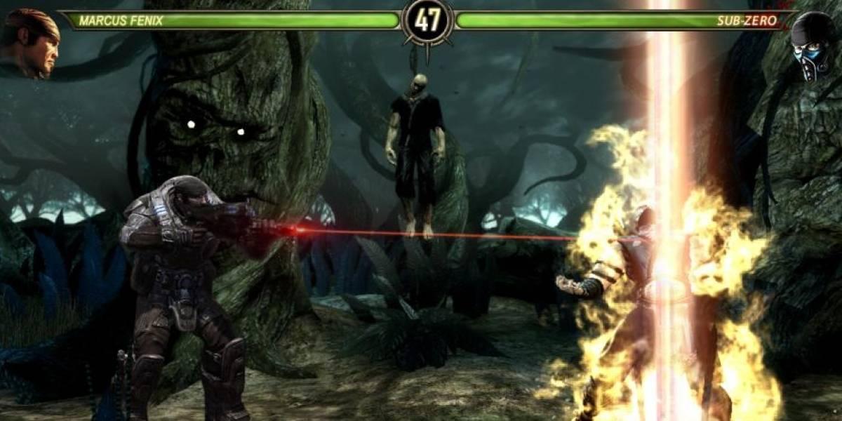 ¿Marcus Fenix a Mortal Kombat?