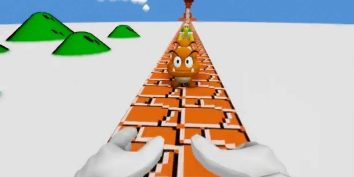 Mario en sabor FPS hecho con Unreal Engine