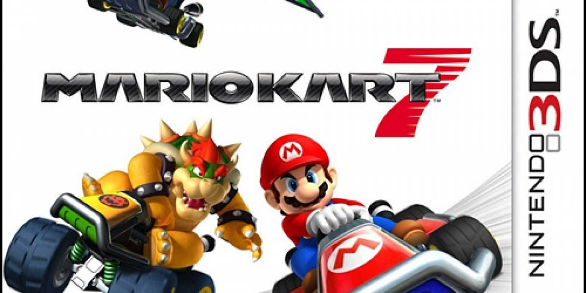 Mario Kart 7 logra excelentes ventas en Japón