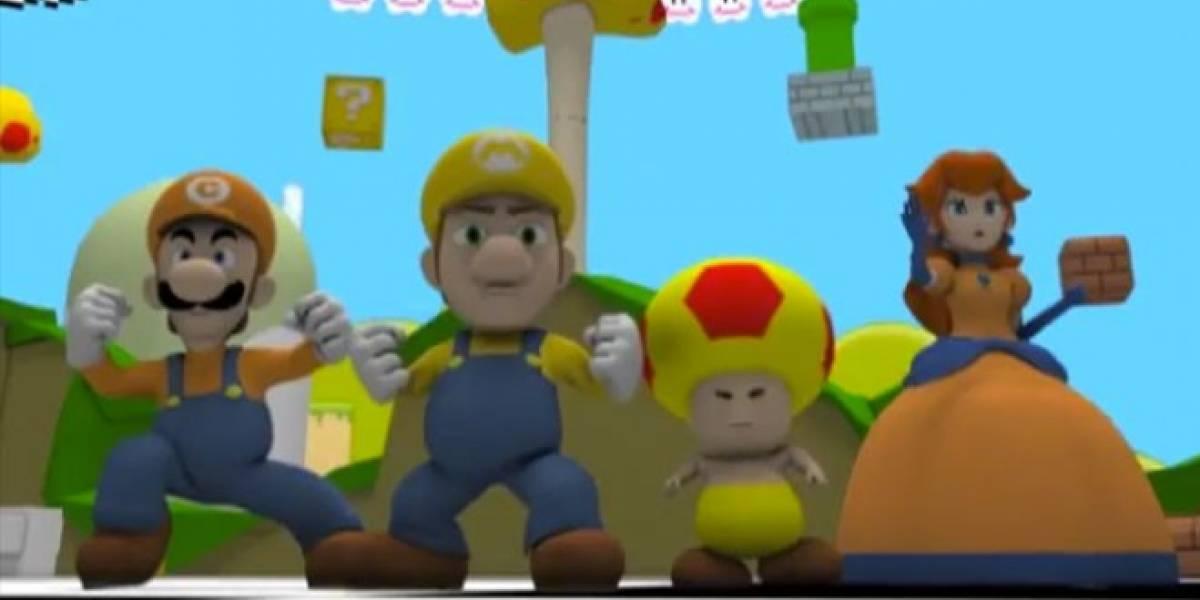 Político mexicano usa parodia de Mario Bros en su campaña