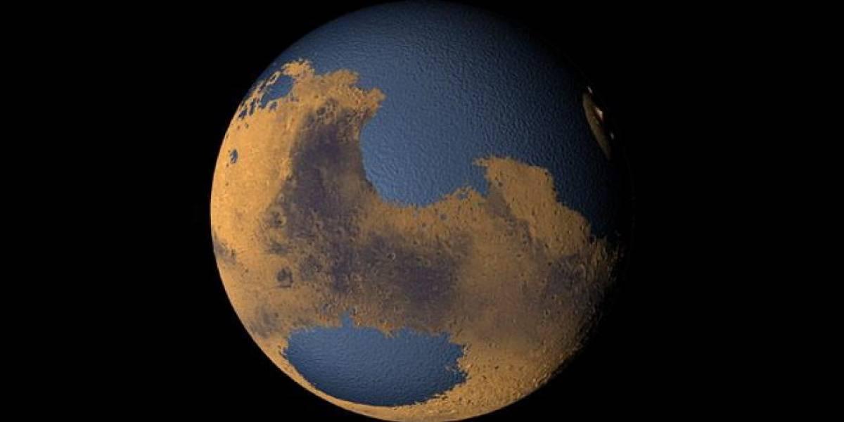 Estudio dice que es posible que exista agua en Marte