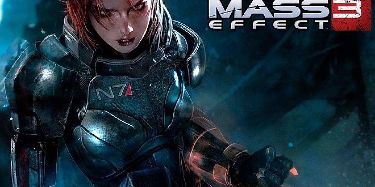 Mass Effect 3 para Xbox 360 no soporta las partidas guardadas en la nube