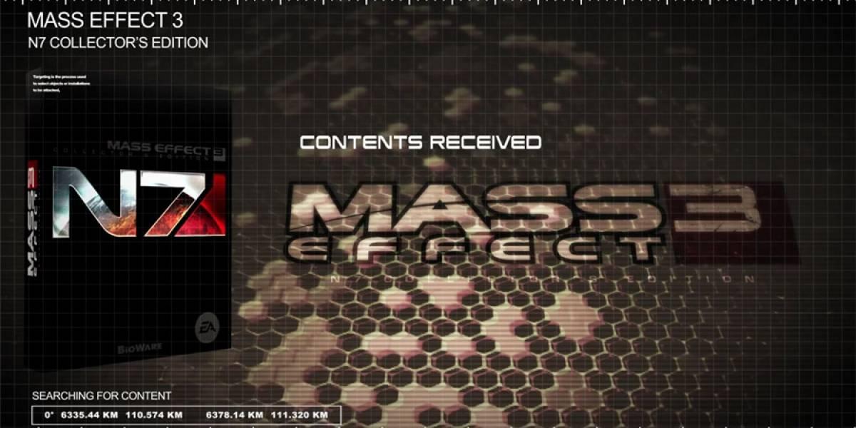 Video con el contenido de la Edición de Colección de Mass Effect 3