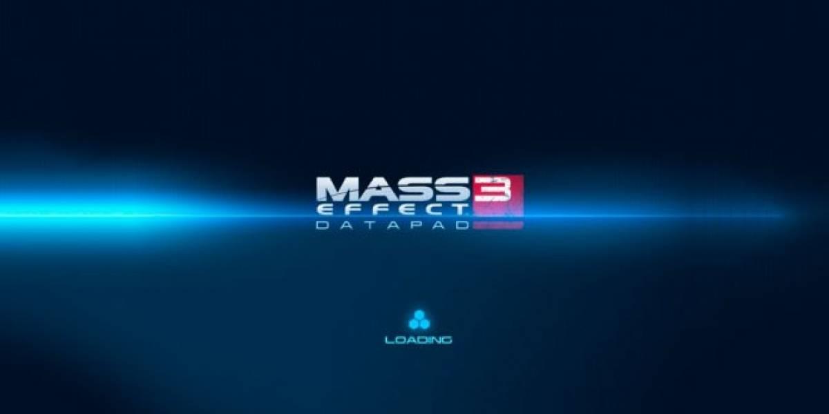 Mass Effect 3 Datapad ya está listo para descargar gratis