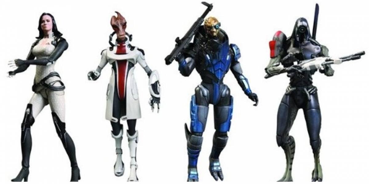 Figuras de acción de Mass Effect 3 tendrán contenido descargable