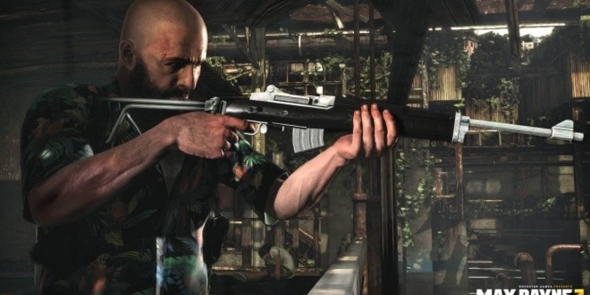 Así de letal es el rifle Mini-30 en Max Payne 3