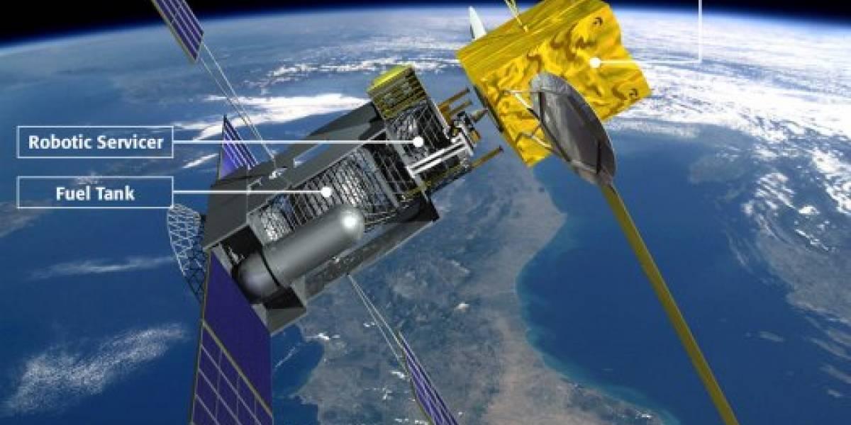 La primera bencinera espacial comenzará a abastecer satélites el 2015
