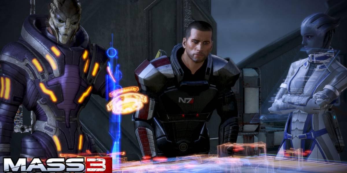 Demo de Mass Effect 3 llegará a inicios de 2012