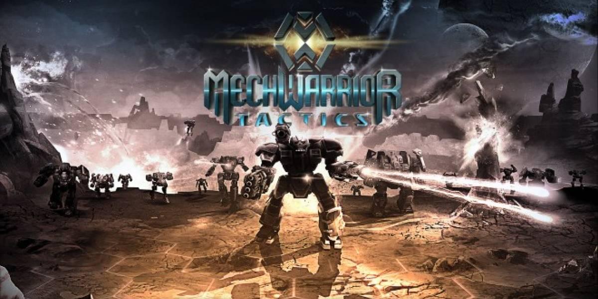 MechWarrior Tactics se convierte en el tercer título de mechas para este año
