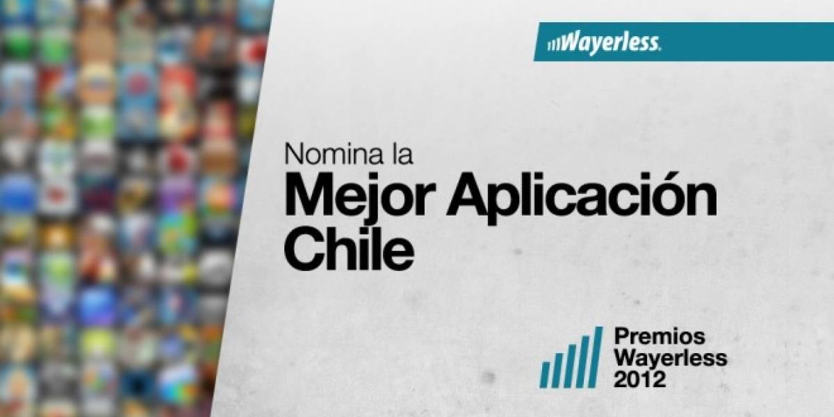 Nomina a la Mejor Aplicación Chile 2012