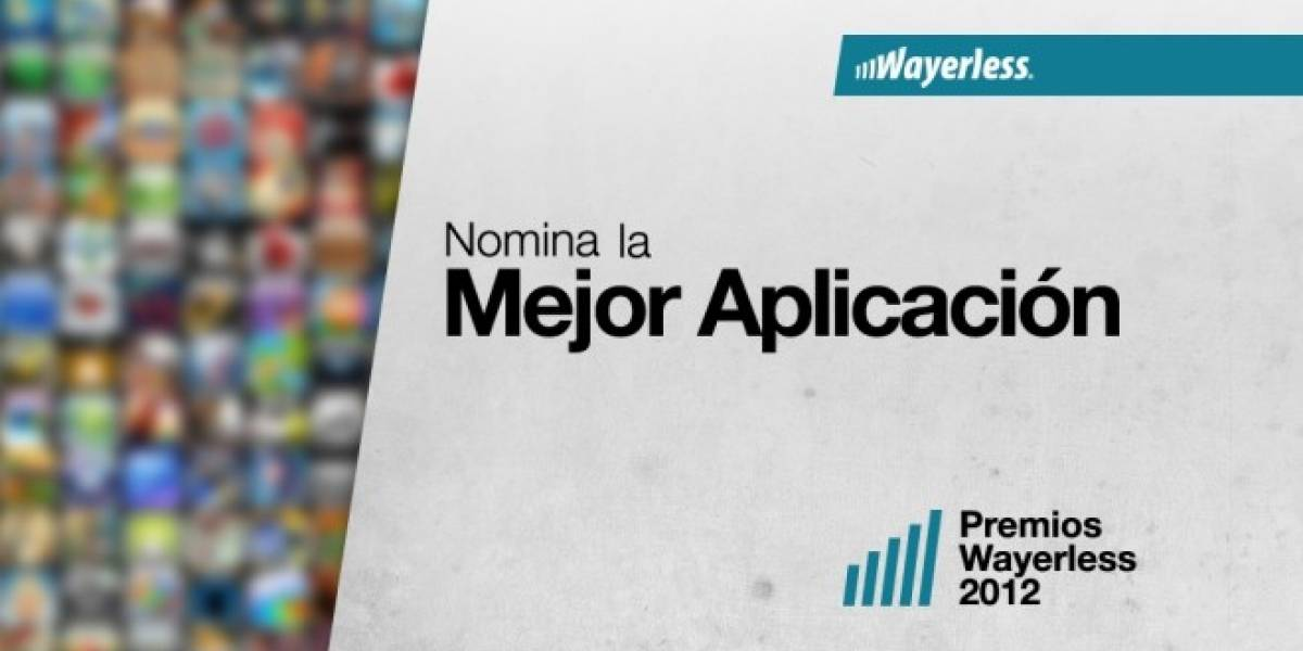 Nomina la Mejor Aplicación de 2012