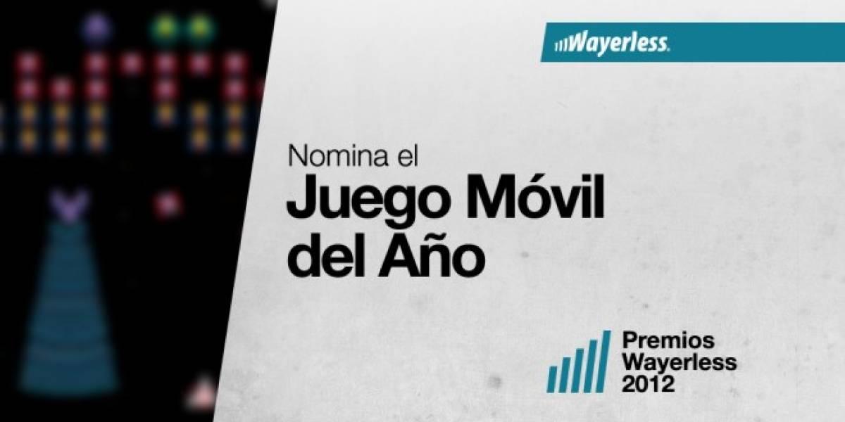 Nomina al Mejor Juego Móvil 2012
