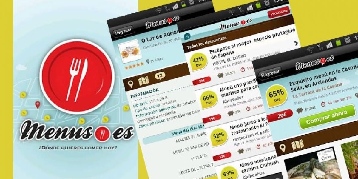 España: ¿Comes de menú? Esta aplicación puede ayudarte a encontrar las mejores opciones