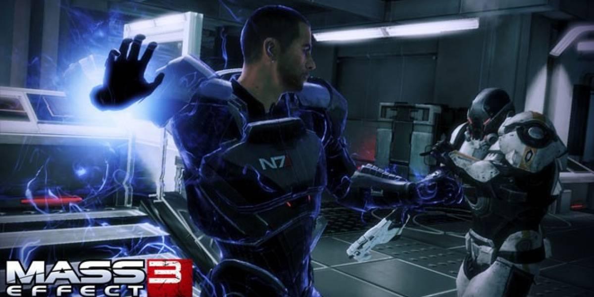 Mass Effect 3 con Kinect a primera vista